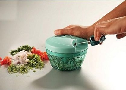 Pigeon New Handy Mini Plastic Chopper with 3 Blades