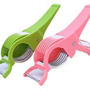 Vegetable Cutter with Peeler, Multicolored