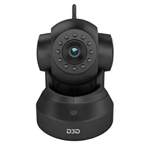 D3D D8801 HD 720P WiFi Home Security Camera 360 PTZ