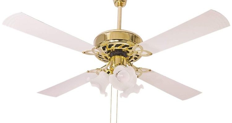Crompton Uranus 48-inch Ceiling Fan With Decorative Lights
