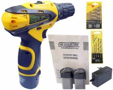 Cheston Cordless Screwdriver Drill Machine