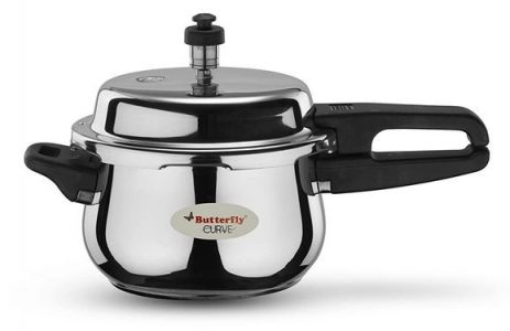 Butterfly Curve Stainless Steel Pressure Cooker 3 liters