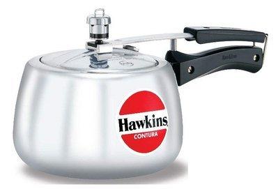 HAWKINS Stainless Steel CONTURA Pressure Cooker 3 liters