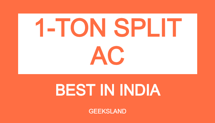 best 1 ton split ac in india
